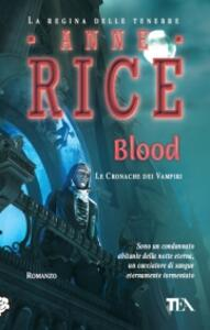 Blood - Anne Rice - copertina