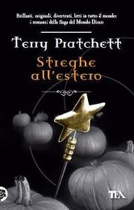 Streghe all'estero - Terry Pratchett - copertina