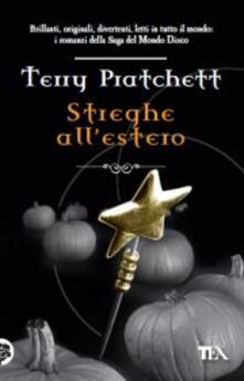 Streghe all'estero - Terry Pratchett - copertina