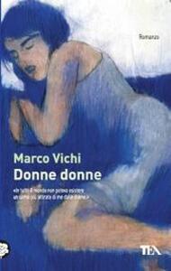Donne donne - Marco Vichi - copertina