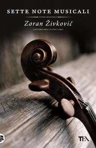 Sette note musicali - Zoran Zivkovic - copertina