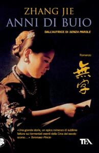 Anni di buio - Jie Zhang - copertina