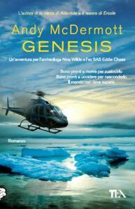 Genesis - Andy McDermott - copertina