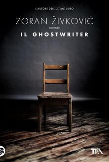 Il ghostwriter - Zoran Zivkovic - copertina