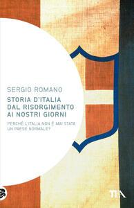 Storia d'Italia dal Risorgimento ai nostri giorni - Sergio Romano - copertina