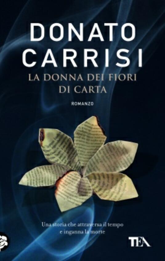 La donna dei fiori di carta - Donato Carrisi - copertina