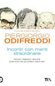 Incontri con menti straordinarie - Piergiorgio Odifreddi - copertina