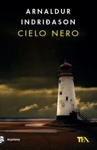 Cielo nero - Arnaldur Indriðason - copertina