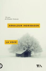 La voce - Arnaldur Indriðason - copertina