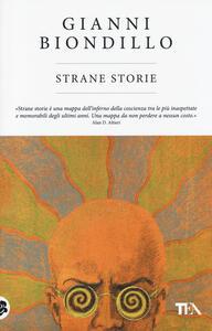 Strane storie - Gianni Biondillo - copertina