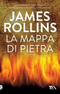 La mappa di pietra - James Rollins - copertina