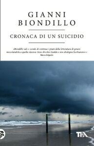 Libro Cronaca di un suicidio Gianni Biondillo