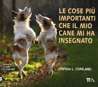 Foto Cover di Le cose più importanti che il mio cane mi ha insegnato, Libro di Cynthia L. Copeland, edito da TEA