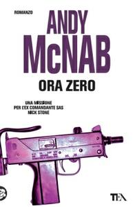 Ora zero - Andy McNab - copertina