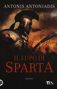 Il lupo di Sparta - Antonis Antoniadis - copertina