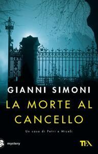La morte al cancello - Gianni Simoni - copertina