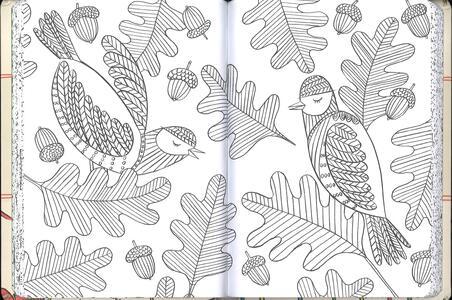 Il nuovo album della mindfulness. Immagini da colorare per un rilassamento profondo - Emma Farrarons - 3