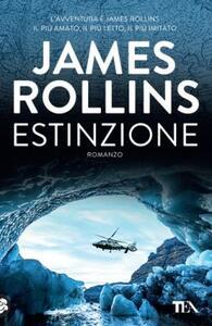Estinzione - James Rollins - copertina
