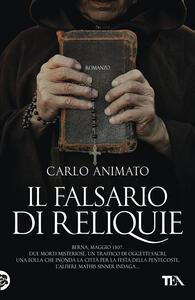 Il falsario di reliquie - Carlo Animato - copertina