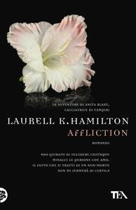 Affliction - Laurell K. Hamilton - copertina