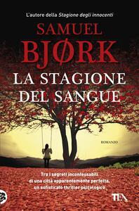 La stagione del sangue - Samuel Bjørk - copertina
