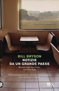 Notizie da un grande paese - Bill Bryson - copertina