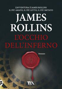 L' occhio dell'inferno - James Rollins - copertina