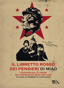 Il libretto rosso dei pensieri di Miao. Citazioni dalle opere del presidente Miao Tse-Tung - copertina