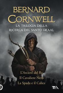 Equilibrifestival.it La trilogia della ricerca del Santo Graal: L'arciere del re-Il cavaliere nero-La spada e il calice Image