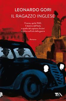 Il ragazzo inglese - Leonardo Gori - copertina