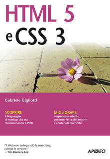 HTML5 e CSS3 - Gabriele Gigliotti - ebook