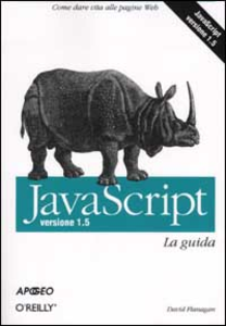 Libro Javascript. Versione 1.5. La guida David Flanagan