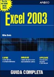 Excel 2003 - Mike Davis - copertina