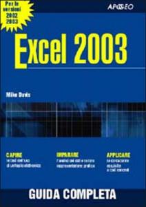 Libro Excel 2003 Mike Davis