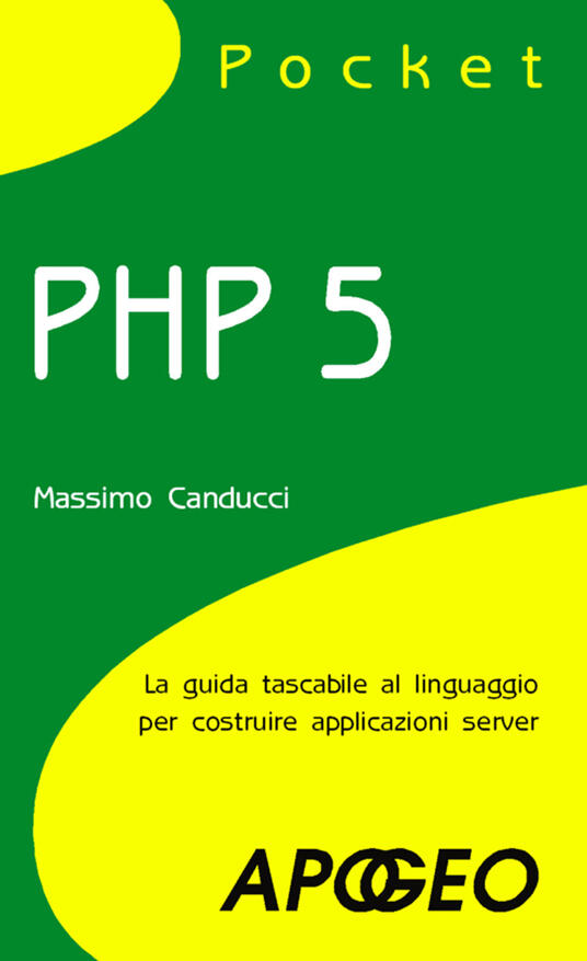 PHP 5 pocket - Massimo Canducci - copertina
