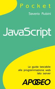 JavaScript - Saverio Rubini - copertina
