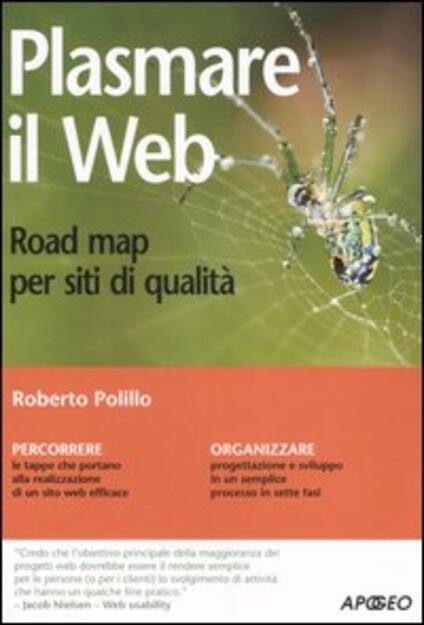 Plasmare il web. Road map per siti di qualità - Roberto Polillo - copertina