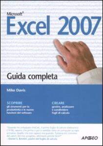 Excel 2007. Guida completa - Mike Davis - copertina