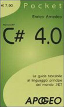 C# 4.0 - Enrico Amedeo - copertina