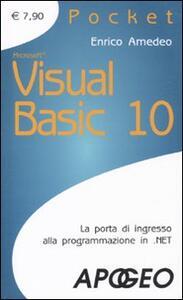 Visual Basic 10 - Enrico Amedeo - copertina