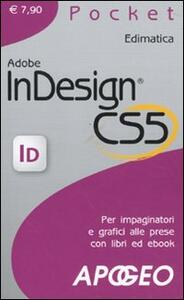 Adobe InDesign CS5 - copertina