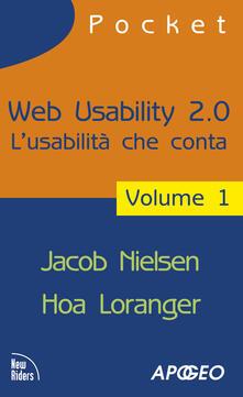 Nicocaradonna.it Web usability 2.0. L'usabilità che conta. Vol. 1 Image