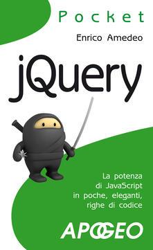 JQuery - Enrico Amedeo - copertina