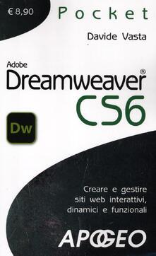 Dreamweaver CS6 - Davide Vasta - copertina