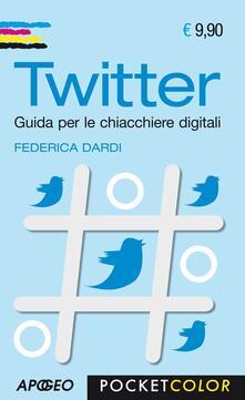 Twitter - Federica Dardi - copertina