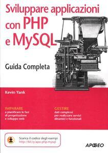 Sviluppare applicazioni con PHP e MySQL - Kevin Yank - copertina