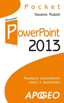 PowerPoint 2013 - Saverio Rubini - copertina