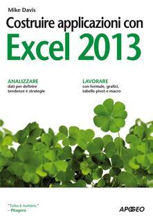 Nordestcaffeisola.it Costruire applicazioni con Excel 2013 Image