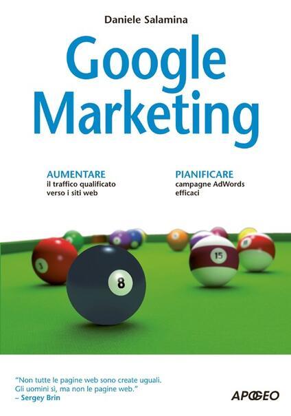 Google marketing - Daniele Salamina - copertina