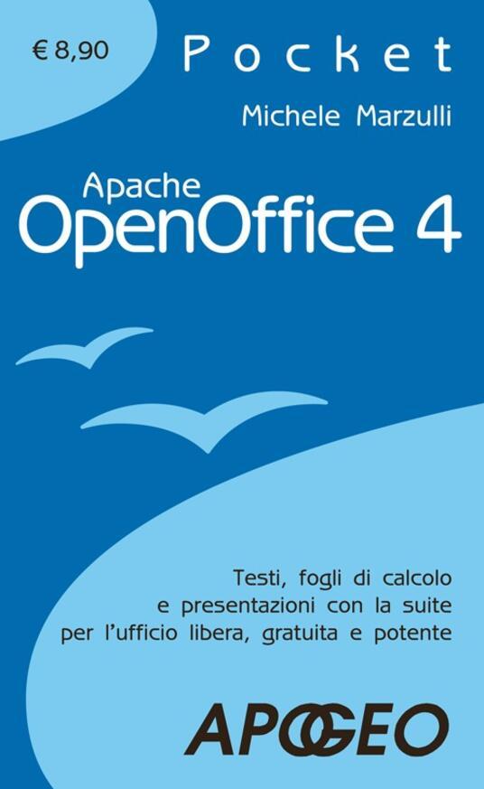 Apache OpenOffice 4.0 - Michele Marzulli - copertina